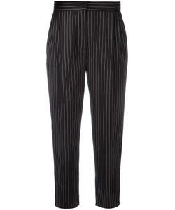 Max Mara | Pinstripe Trousers 36 Spandex/Elastane/Virgin Wool