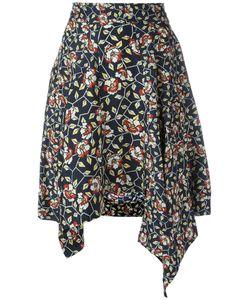 Isabel Marant | Asymmetric Print Skirt Size 38
