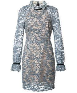 Rebecca Vallance | Alexa Mini Dress 12 Cotton/Nylon/Polyester/Silk