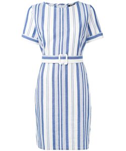 A.P.C. | A.P.C. Striped Belted Dress 38