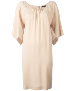 Roberto Collina | Open Sleeve Shift Dress Small Viscose/Spandex/Elastane