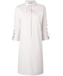 Max Mara | Lace-Up Sleeves Shirt Dress