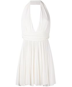 Plein Sud | Halter Neck Plunge Dress