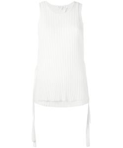 Helmut Lang | Pleated Laye Tank Medium Wool