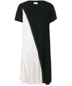 DKNY | Двухцветное Асимметричное Платье