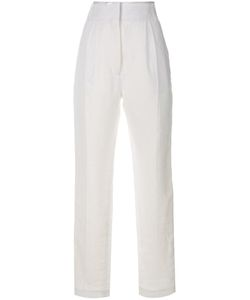 Haider Ackermann | High-Waisted Trousers 36 Linen/Flax/Cotton/Rayon