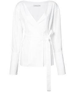 PROTAGONIST   Belted Wrap Blouse 8