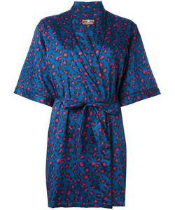 OTIS BATTERBEE | Leopard Print Kimono Large Cotton