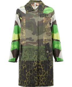 Herno | Scale Print Panel Coat Size 42