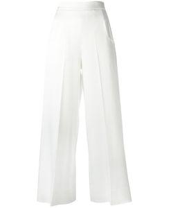 Roland Mouret | Ward Trousers 10 Viscose/Acetate/Polyurethane/Spandex/Elastane