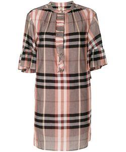 Burberry | Клетчатое Платье-Шифт