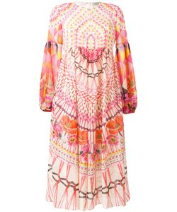 Temperley London | Printed Fla Dress 10 Silk