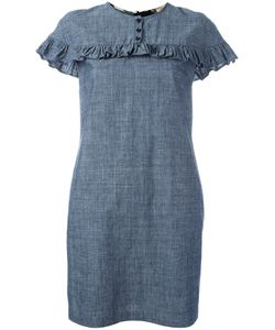 Burberry | Ruffled Detail Dress 6 Cotton