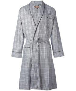 OTIS BATTERBEE | Prince Of Wales Dressing Gown Medium