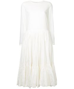 CASEY CASEY | Drop Waist Tiered Dress Women
