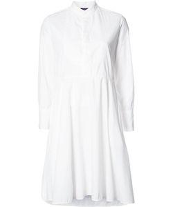 Y'S   K Waist Panel Dress 2 Cotton