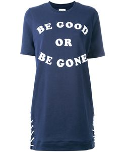 Zoe Karssen | Slogan Print T-Shirt Dress Size Small