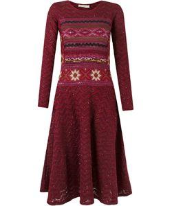 CECILIA PRADO | Longsleeved Tricot Dress G Acrylic/Viscose