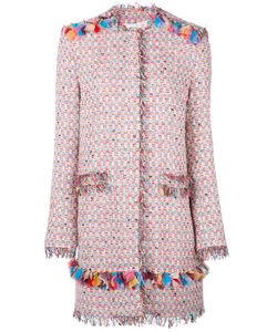 MSGM | Midi Tweed Jacket 46 Cotton/Polyamide/Acrylic/Polyester