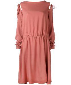 SOCIETE ANONYME | Платье С Завязками На Рукавах