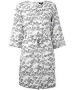 A.P.C. | Платье С Абстрактным Принтом И Поясом .