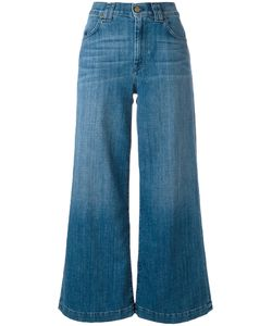 7 for all mankind | Cropped Wide-Leg Jeans 25