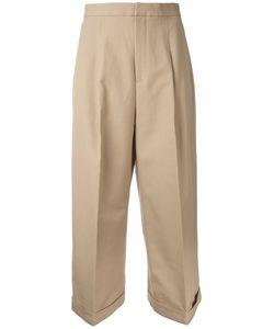 ENFÖLD | Enföld Loose-Fit Cropped Trousers 36 Cotton/Spandex/Elastane