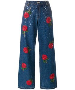 Ashish | Embroide Sequin Jeans Large Cotton