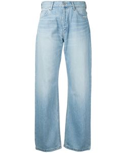 Serge De Blue | Wide Leg Jeans 27 Cotton