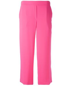 P.A.R.O.S.H. | Straight Cropped Trousers Polyester
