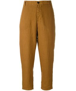 Barena | Cropped Trousers 42 Linen/Flax