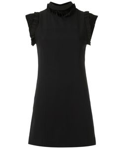Andrea Bogosian | Lace Inserts Shift Dress