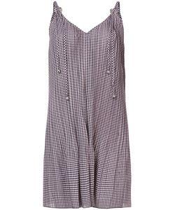 ADAM SELMAN | Checkered Cami Dress Women