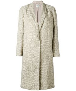 Forte Forte | Single-Breasted Jacquard Coat