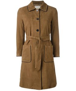 L' Autre Chose | Lautre Chose Trench Coat With Contrast Piping 42