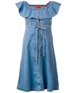 Hilfiger Collection | Denim Midi Sun Dress Size 6
