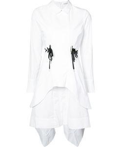 Jonathan Simkhai   Поплиновое Платье Со Шнурками