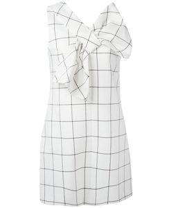 Victoria, Victoria Beckham | Victoria Victoria Beckham Checked Shift Dress 6 Silk/Cotton