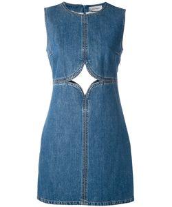 Courreges | Джинсовое Платье С Вырезной Деталью