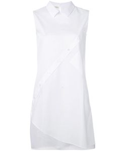 Each X Other | Dislocated Buttoning Sleeveless Blouse