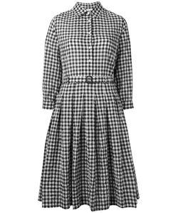Aspesi | Checked Flared Shirt Dress Size 46