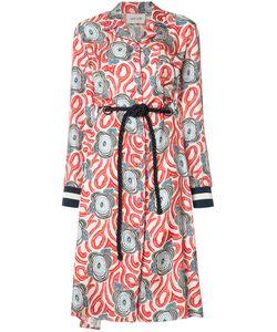 Michel Klein | Dufy Print Shirt Dress Size
