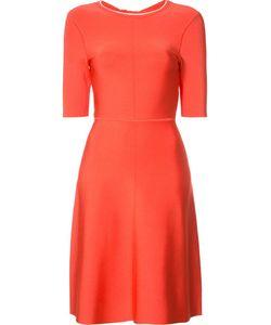 Victoria, Victoria Beckham | Victoria Victoria Beckham Fla Dress 12 Viscose/Nylon/Spandex/Elastane