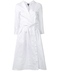 Jil Sander Navy | Woven Shirt Dress Size 36