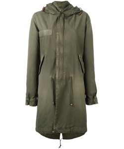 MR & MRS Italy | Long Line Hooded Parka Small
