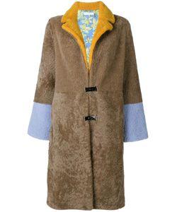 Saks Potts | Fla Sleeves Midi Coat 1 Polyester/Sheep
