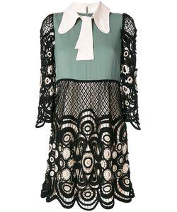 Chloe | Кружевное Платье Дизайна Колор-Блок