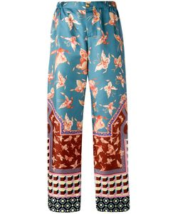 F.R.S For Restless Sleepers | Multiple Patterns Straight Trousers Silk