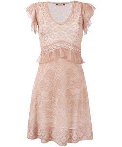 Roberto Cavalli | Fine Knit Flared Dress