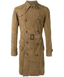 DESA | 1972 Origano Belted Coat 50 Suede/Cotton
